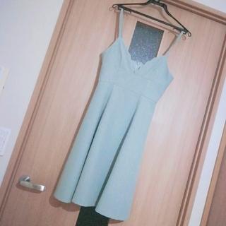 プロポーションボディドレッシング(PROPORTION BODY DRESSING)のスカラップキャミワンピース ♡ PROPORTION BODY DRESSING(ひざ丈ワンピース)