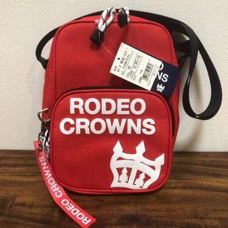 RODEO CROWNS - 値下げ 新品タグ付 RODEO CROWNS ロデオクラウンズ ショルダーバッグ