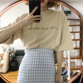 ゴゴシング(GOGOSING)のレース襟シャツ(Tシャツ(半袖/袖なし))