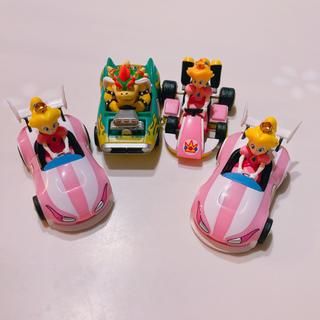 スーパーマリオ プルバックカー セット