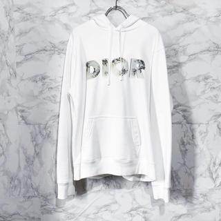 ディオール(Dior)のDIOR 20SS × ダニエル・アーシャム プルオーバーパーカー ホワイト(パーカー)