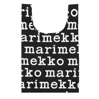 marimekko - マリメッコ marimekko マリロゴ エコバッグ 新品未使用品 ポーチ一体型
