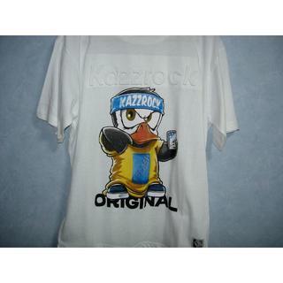 カズロックオリジナル(KAZZROCK ORIGINAL)の新品タグ付「kazzrock original」Tシャツ Lサイズ(Tシャツ/カットソー(半袖/袖なし))