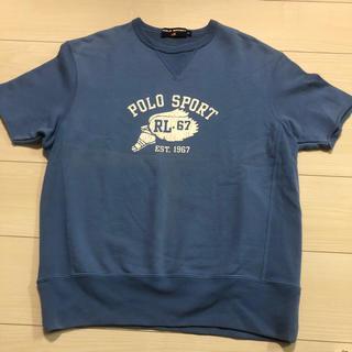 POLO RALPH LAUREN - 90s POLO SPORT 半袖 スウェット シャツ ポロスポーツ Mサイズ