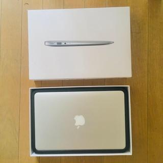 マック(Mac (Apple))のMac Book Air 11インチ 128gb メモリ4mb USキーボード(ノートPC)