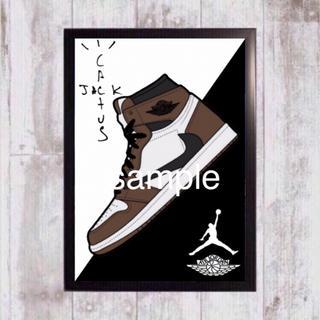 ナイキ(NIKE)のTravis x Nike トラヴィス 額付(スニーカー)