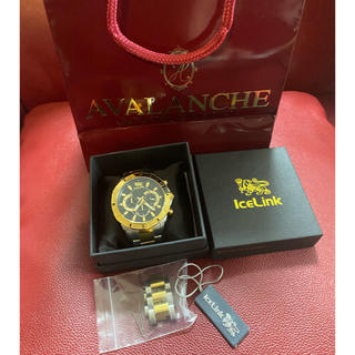 アヴァランチ(AVALANCHE)のavalanche横浜店購入! ICELINK 腕時計(腕時計(アナログ))