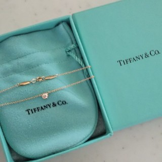 Tiffany & Co. - ティファニーバイザヤードダイヤモンドネックレスダイアモンドペンダント18KYG