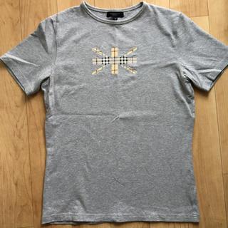 バーバリー(BURBERRY)のバーバリー Tシャツ シャツ グレー M 半袖 ロンドン 夏(Tシャツ(半袖/袖なし))