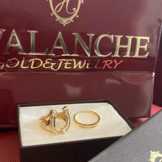 アヴァランチ(AVALANCHE)のavalanche 10K リング(リング(指輪))
