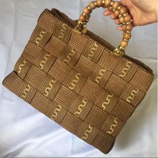 トゥモローランド(TOMORROWLAND)のItalia vintage bag(かごバッグ/ストローバッグ)
