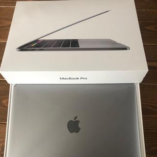 マック(Mac (Apple))の使用少!MacBook Pro 2018 Touch Bar 付属品未使用!(ノートPC)