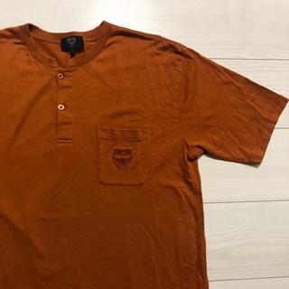 エムシーエム(MCM)の90s MCM ヘンリーネック Tシャツ 90's レトロ 古着 Lサイズ(Tシャツ/カットソー(半袖/袖なし))