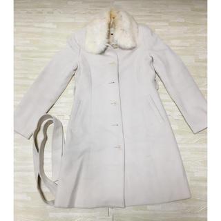 プロポーションボディドレッシング(PROPORTION BODY DRESSING)のアンゴラ ロングコート(ロングコート)