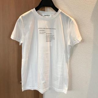 エンフォルド(ENFOLD)のエンフォルド Tシャツ 新品未使用(Tシャツ(半袖/袖なし))