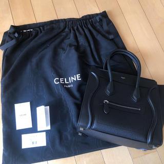 celine - 【美品】Celine 新ロゴ マイクロ ラゲージ