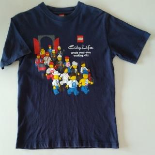 レゴ(Lego)のレゴ LEGO Tシャツ レゴショップ購入 メンズS イラスト入り 紺(Tシャツ/カットソー(半袖/袖なし))