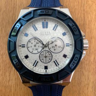 ゲス(GUESS)の美品 GUESS メンズ腕時計 クォーツ 100m防水(腕時計(アナログ))