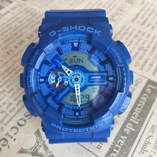 ジーショック(G-SHOCK)のG-SHOCK  ブルー(腕時計(デジタル))