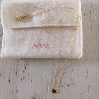アーカー(AHKAH)のAHKAH アーカー プレート ネックレス(ネックレス)