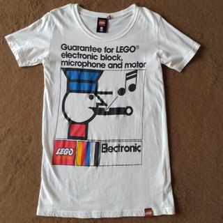 レゴ(Lego)のレゴ LEGO 前後イラスト入りTシャツ S (Tシャツ/カットソー(半袖/袖なし))
