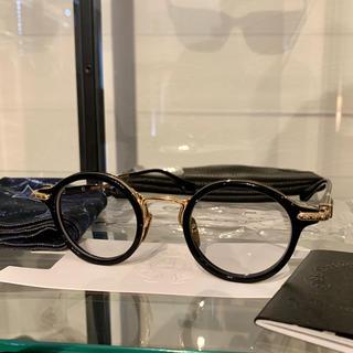 クロムハーツ(Chrome Hearts)の正規 クロムハーツ BRA-GILE ブラック ゴールド メガネ(サングラス/メガネ)