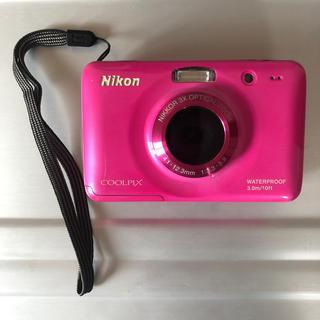 ニコン(Nikon)のNikon 水中カメラ coolpixs30(コンパクトデジタルカメラ)