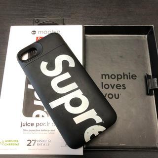 シュプリーム(Supreme)のsupreme iPhoneケース+モバイルバッテリー(モバイルケース/カバー)