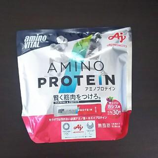 アジノモト(味の素)のアミノバイタル アミノプロテイン カシス味 30本(プロテイン)