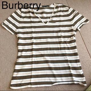 バーバリー(BURBERRY)のバーバリー トップス(Tシャツ(半袖/袖なし))