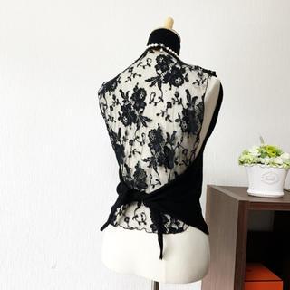VALENTINO - 美品 ヴァレンティノ バックコンシャス 刺繍 サマーニット  トップス セーター