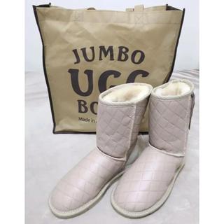 アグ(UGG)のUGGブーツ  薄ピンク(ブーツ)
