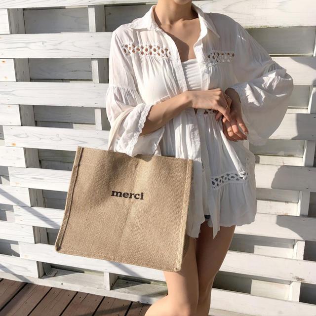 eimy istoire(エイミーイストワール)のliliana Hem frill design cardigan レディースのトップス(Tシャツ(半袖/袖なし))の商品写真