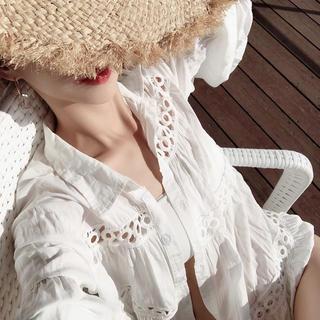 eimy istoire - liliana Hem frill design cardigan