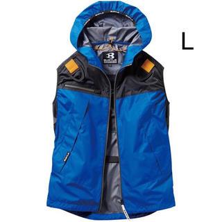 バートル(BURTLE)の新品 空調服 ベスト バートル ロイヤルブルー L  服のみ(ベスト)
