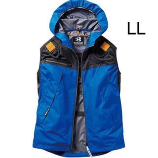 バートル(BURTLE)の新品 空調服 ベスト バートル ロイヤルブルー LL  服のみ(ベスト)