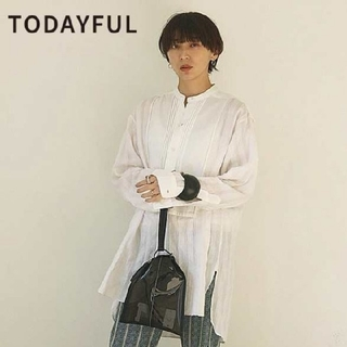 TODAYFUL - 新作モデル 希少 Todayful トゥデイフル シャツ