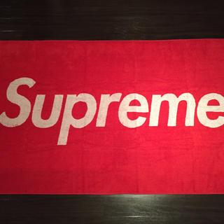シュプリーム(Supreme)のセール 12ss box logo beachtowel supreme (タオル/バス用品)
