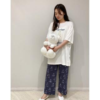 gelato pique - 【シロクマフェア】ワンポイント冷感Tシャツ&ロングパンツ セット