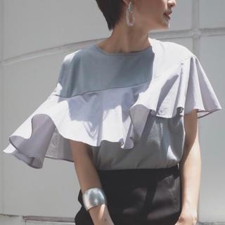 ラグナムーン(LagunaMoon)の【値下げ☆】ラグナムーン フリルTシャツ(Tシャツ(半袖/袖なし))