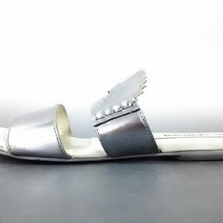 ジルサンダー(Jil Sander)のジルサンダー サンダル 35 レディース美品 (サンダル)