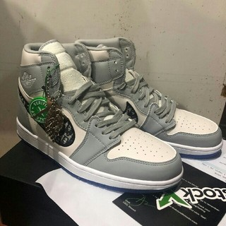 ディオール(Dior)の24.5cmDIOR AIR JORDAN 1 HIGH AIR DIOR(スニーカー)