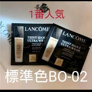LANCOME - ランコム タンイドル リキッドファンデーション サンプル
