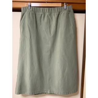 ユニクロ(UNIQLO)のロングスカート 大きいサイズ ユニクロ 3XL(ロングスカート)