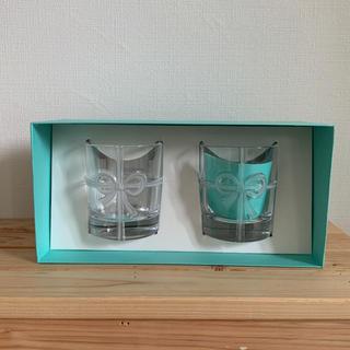 ティファニー(Tiffany & Co.)のTIFFANY&Co. ペアグラス リボン(グラス/カップ)