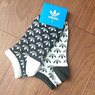 アディダス(adidas)のアディダス くるぶし ソックス 22~24㎝(ソックス)