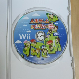 Wii - 人生ゲーム ハッピーファミリー wiI