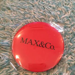 マックスアンドコー(Max & Co.)のMax&Co マックスアンドコー  手鏡 ミラー FNO 新品(その他)