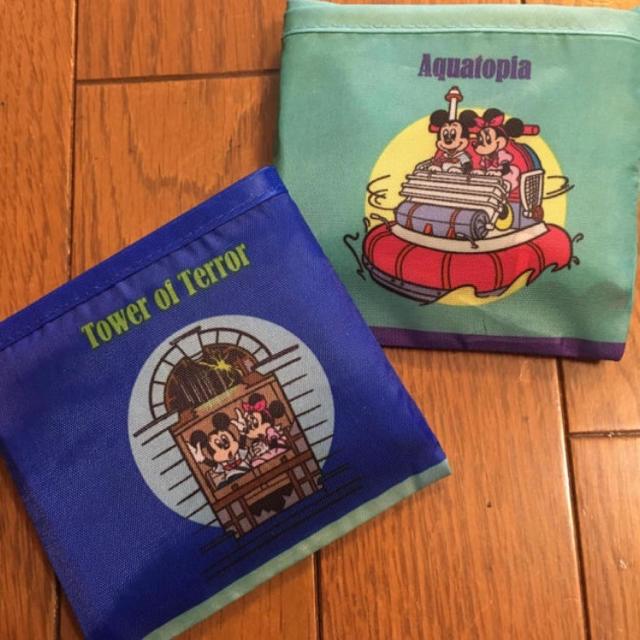 Disney(ディズニー)の限定値下げ ディズニー エコバッグ 新品未使用 2個 ミッキー ミニー エンタメ/ホビーのおもちゃ/ぬいぐるみ(キャラクターグッズ)の商品写真