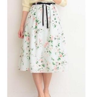 プロポーションボディドレッシング(PROPORTION BODY DRESSING)のプロポーションボディードレッシング  花柄スカート (ひざ丈スカート)
